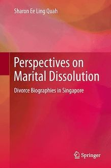 Perspectives on Marital Dissolution