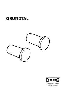 IKEA - GRUNDTAL - Modes d'emploi
