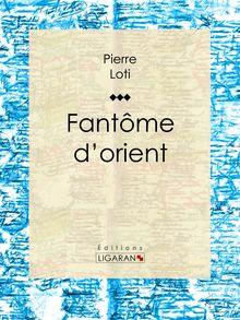 Fantôme d'orient de Ligaran, Pierre Loti - fiche descriptive