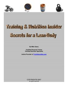 Nutrition, Training, and Mindset articles for life-long fitness success