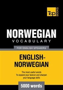 Norwegian vocabulary for English speakers - 5000 words