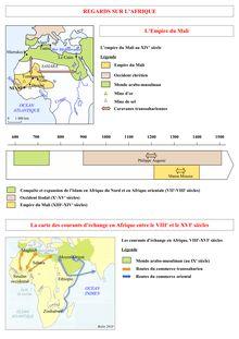 Cours sur l'empire du Mali : Regards sur l'Afrique - cours d'histoire 5e