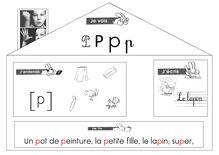 Lecture CP – Méthode Abracadalire - tableau p