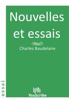 Nouvelles et essais de Charles  Baudelaire - fiche descriptive