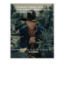 Hopalong Cassidy stories from Fawcett