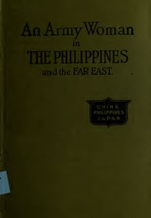 An army woman in the Philippines; extracts from letters of an army officer