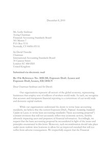 Chamber ELFA RER Joint Trade Association Comment  Letter Leases with FINAL edits 12