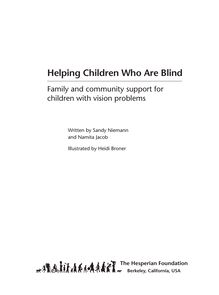 Helping Children Who Are Blind