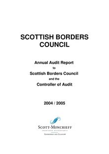 Final  Annual Audit Report 04-05