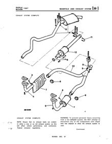 Land Rover : Manifold and exhaust System