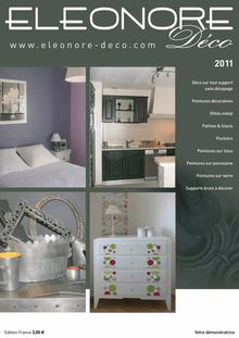 Catalogue Eleonore Deco 2011