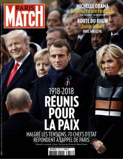 Paris Match du 15-11-2018 - Paris Match