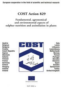 COST Action 829