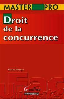 Master Pro. Droit de la concurrence - Valérie Pironon