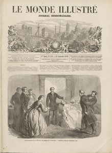 LE MONDE ILLUSTRE  N° 127 du 17 septembre 1859