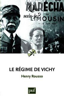 Le régime de Vichy de Henry Rousso - fiche descriptive