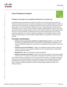 Cisco ProtectLink Endpoint (French)