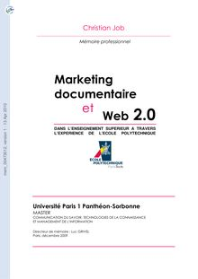 [mem_00473012, v1] Marketing documentaire et Web 2.0 dans l ...