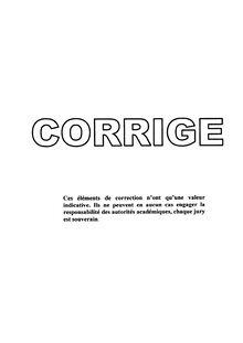 Corrige Brevet Portugais 2002