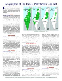 Download - A Synopsis of the Israeli-Palestinian Conflict