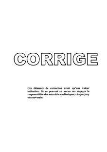 Corrige Brevet Francais 2003