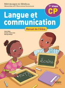 LANGUE ET COMMUNICATION CP- ELEVE (SENEGAL)