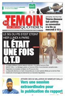 Le Temoin du 16-07-2019 - Le Temoin