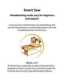 Smart Saw Woodworking Made Easy for Beginners and Experts