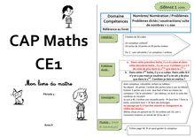 Mathématiques CP / CE1 – Cap Maths, période 3 (unités 7 et 8) - Contributions Anne L livre du maître cap maths CE1 prep période 3