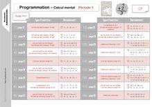 Mathématiques CP – J'apprends les maths avec Picbille - Camille calcul mental