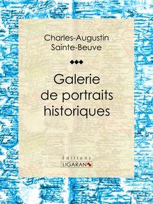 Galerie de portraits historiques de Charles-Augustin Sainte-Beuve, Ligaran - fiche descriptive