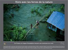 Vivre avec les forces de la nature - Poster A3