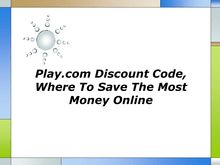 Play com Discount Code Where To Save The Most Money Online