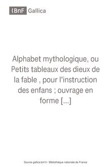 Alphabet mythologique