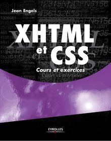 XHTML et CSS de Engels Jean - fiche descriptive