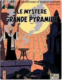 Blake et Mortimer - Tome 5 - Mystère de la Grande Pyramide T2 (Le) - Edgar P. Jacobs