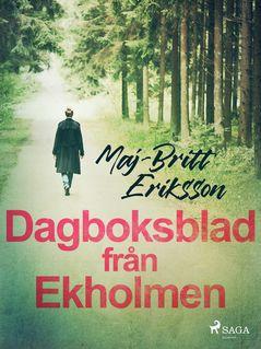Dagboksblad från Ekholmen - Maj-Britt Eriksson