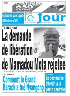 Le Jour Cameroun du 06-12-2019
