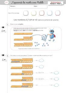 Mathématiques CP – J'apprends les maths avec Picbille - Noma Picbille Période 2