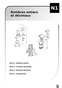 Cahier d'exercice - Mathématiques 6ème