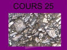 Cours 25 SVT 5e - formation d une roche sédimentaire beach-rock