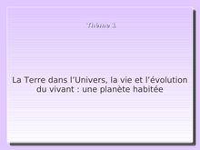 Cours de SVT 2nd - La biodiversité, résultat et étape de l'évolution