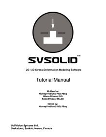 SVSolid Tutorial Manual