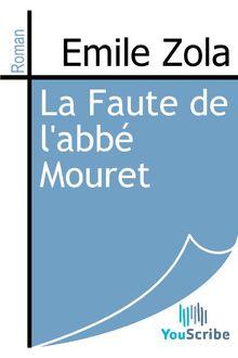 La Faute de l'abbé Mouret de Emile Zola - fiche descriptive