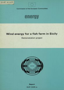 Wind energy for a fish farm in Sicily