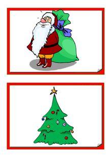 Anglais C.2 – Noël - Les flash cards de Céline G.