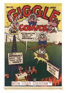 Giggle Comics 054 de  - fiche descriptive