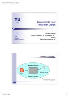 ICSEA-10 Tutorial Requirements Meet Interaction  Design for Web