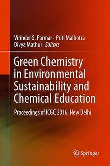 Green Chemistry in Environmental Sustainability and Chemical Education