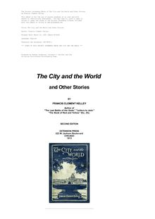 The City and the World and Other Stories
